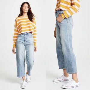 Free People Wales Wide Leg Crop Jeans-Size 30